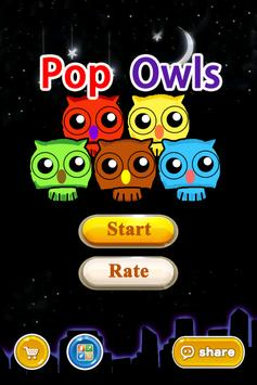 pop owls-crazy pop super star poster