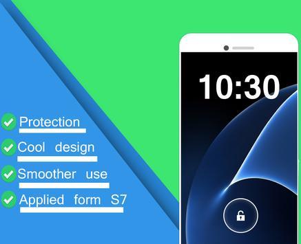 S7 Lock Screen EDEGE apk screenshot
