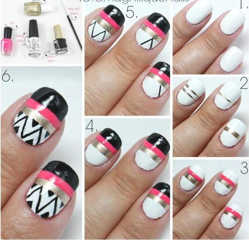 Latest Nail Art Ideas Tutorial Apk Download Free Lifestyle App For