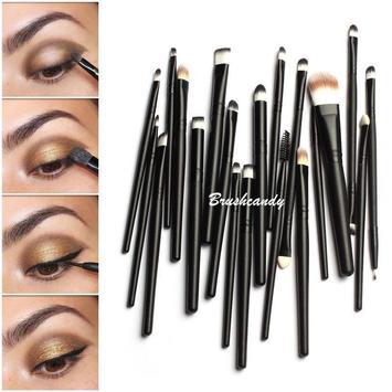 Easy makeup tutorials & ideas poster