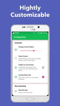 S8, Note8 Round Conner - Screen Round Conner screenshot 6