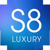 Luxury S8 Icon Pack icon