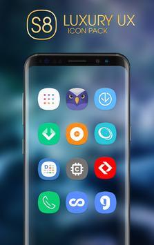 Luxury S8 Icon Pack apk screenshot