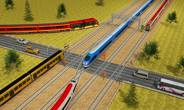 Indian Train City Driving Sim- Train Games 2018 screenshot 1
