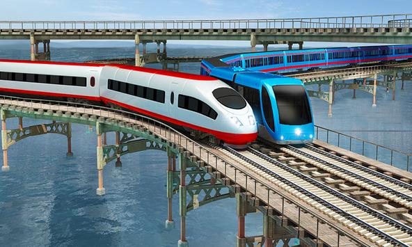 Indian Train City Driving Sim- Train Games 2018 screenshot 2