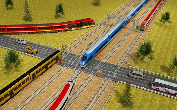 Indian Train City Driving Sim- Train Games 2018 screenshot 5