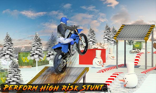 Racing on Bike - Moto Stunt poster