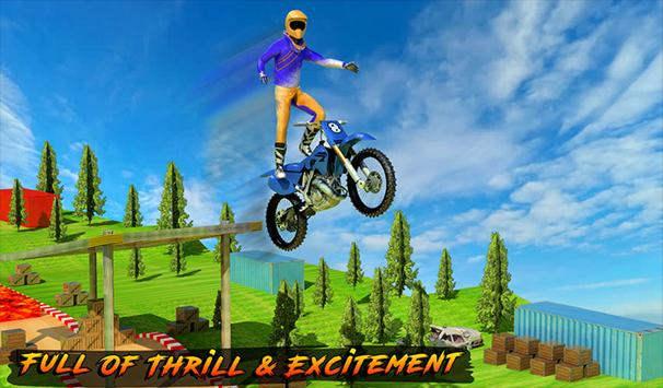 Racing on Bike - Moto Stunt apk screenshot