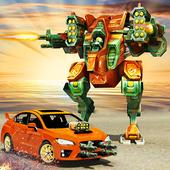 Robot Car Transformation icon