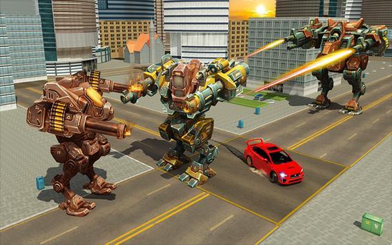 Robot Car Transformation apk screenshot