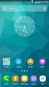 S Launcher (Galaxy S7 Launcher Cartaz