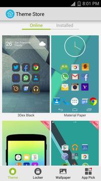 S Launcher imagem de tela 4