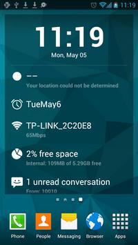 S Launcher imagem de tela 7