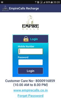 Empire Calls Recharge poster