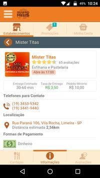 Quero Mais Delivery apk screenshot