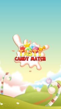 🍬 Tasty Candy Match Mania 🍬 apk screenshot