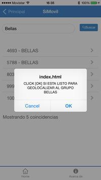 SiMovil apk screenshot