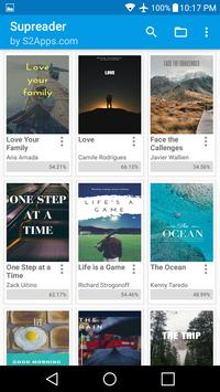 ePUB EBook Reader Skoob apk screenshot