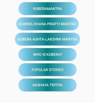 KuberaMantra poster