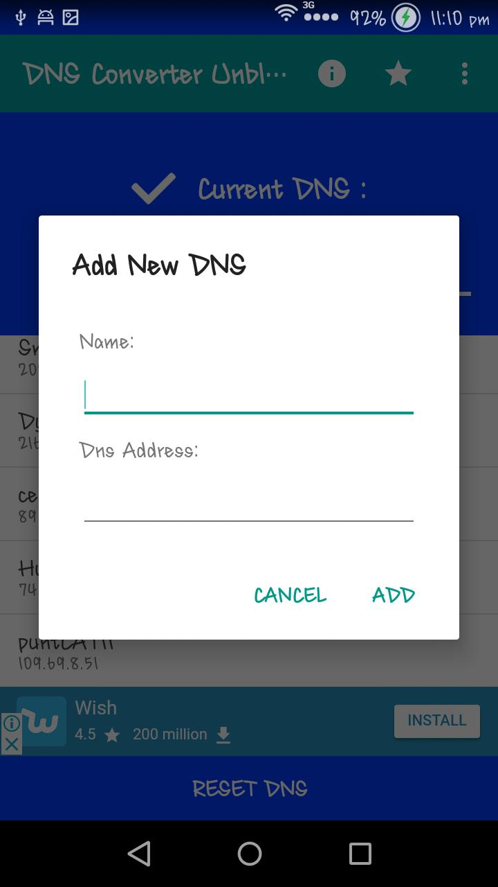 DNS Converter - Unblock Links for Android - APK Download