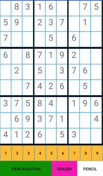 SudokuPro screenshot 1