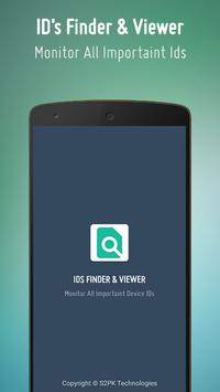 IDs Finder for Android Device poster