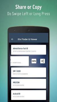 IDs Finder for Android Device screenshot 3