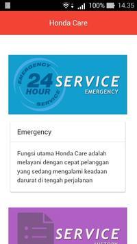 Honda Care Bali poster