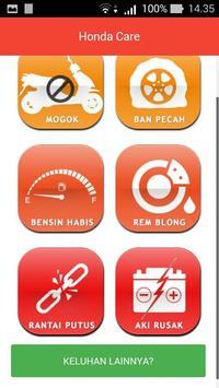 Honda Care Bali screenshot 1