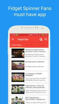 FidgetTube - Fidget Spinner tips & tricks video screenshot 1