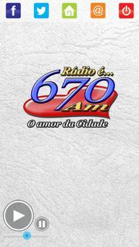Rádio Centro Oeste 670 AM apk screenshot