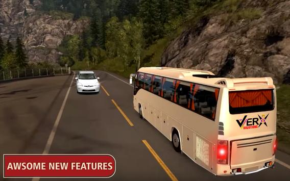 Modern Offroad Uphill Bus Simulator screenshot 10