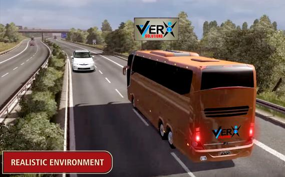 Modern Offroad Uphill Bus Simulator screenshot 14
