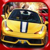 Airborne City Car Drive Free icon