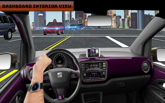 Airborne City Car Drive Free apk screenshot