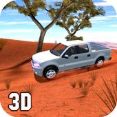 4x4 Desert Prado Race Drive icon