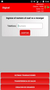 Digicel Phone to Phone screenshot 1