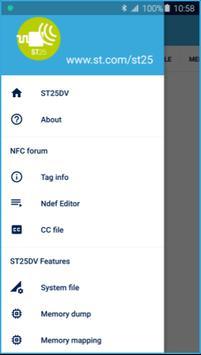 ST25 NFC Tap apk screenshot