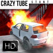 CRAZY TUBE STUNT : Pipe Race icon