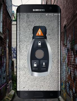 Remote Lock Car simulator poster