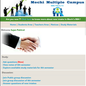 Mechi Campus BBA icon