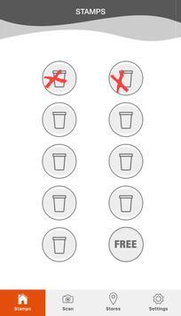 Kaffe O - Loyalty App poster