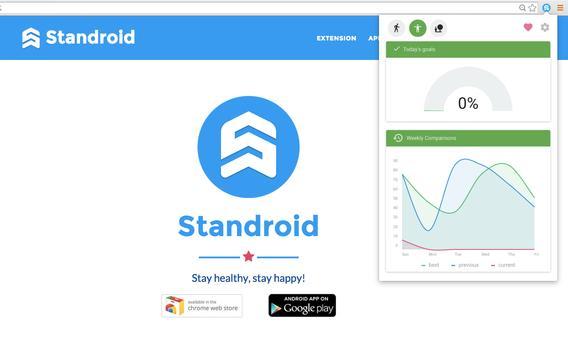 Standroid apk screenshot