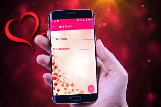Test d'amour 2017 apk screenshot