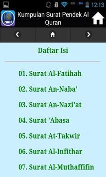 Kumpulan Surat Pendek Al-Quran screenshot 3
