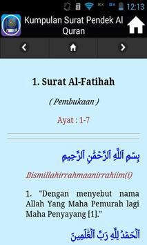 Kumpulan Surat Pendek Al-Quran screenshot 4