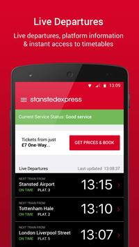 Stansted Express Tickets poster