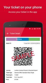 Stansted Express Tickets apk screenshot