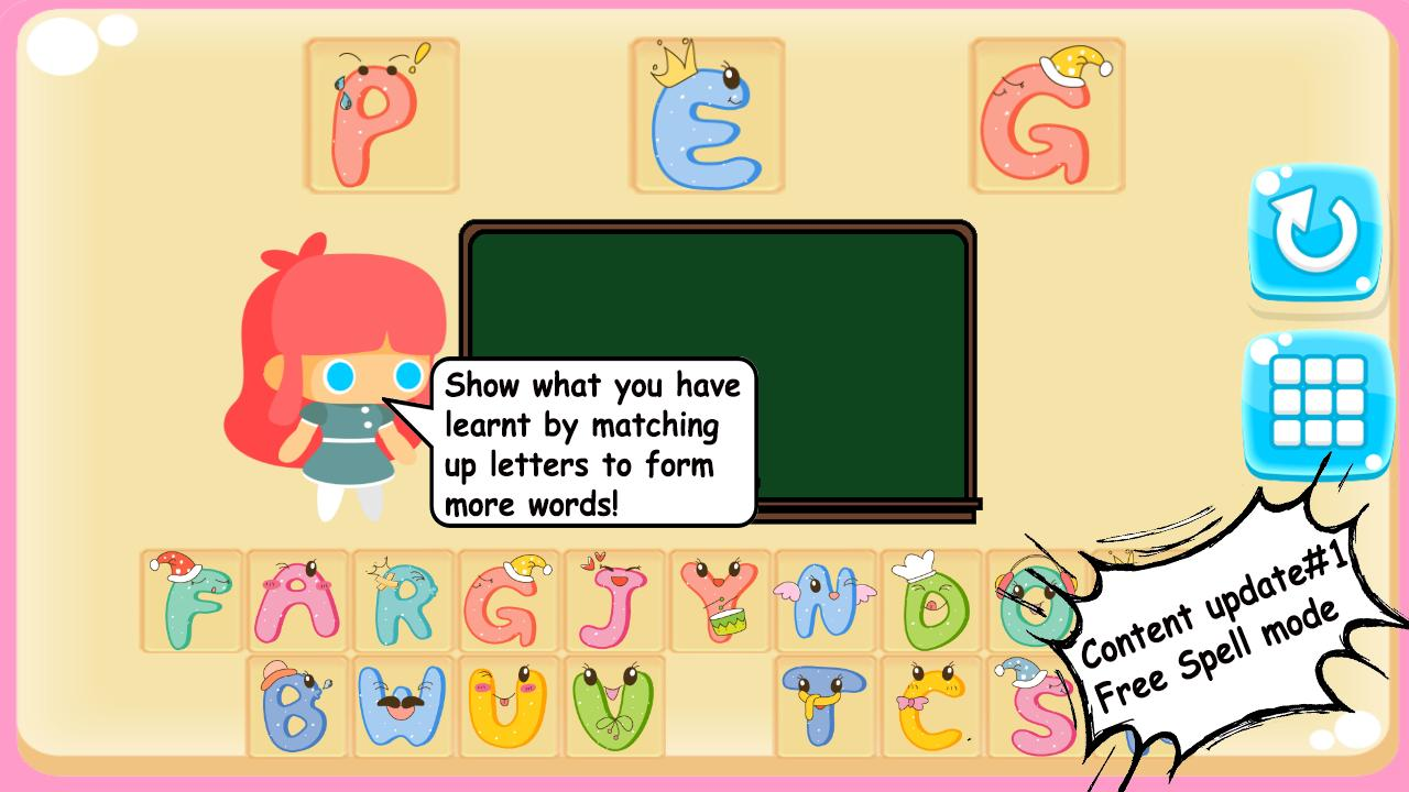 Stacy's Spelling Bee: An English App For Kids! for Android