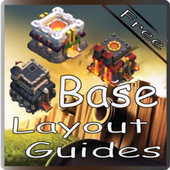 Clash Base Layouts Guide Pro. icon